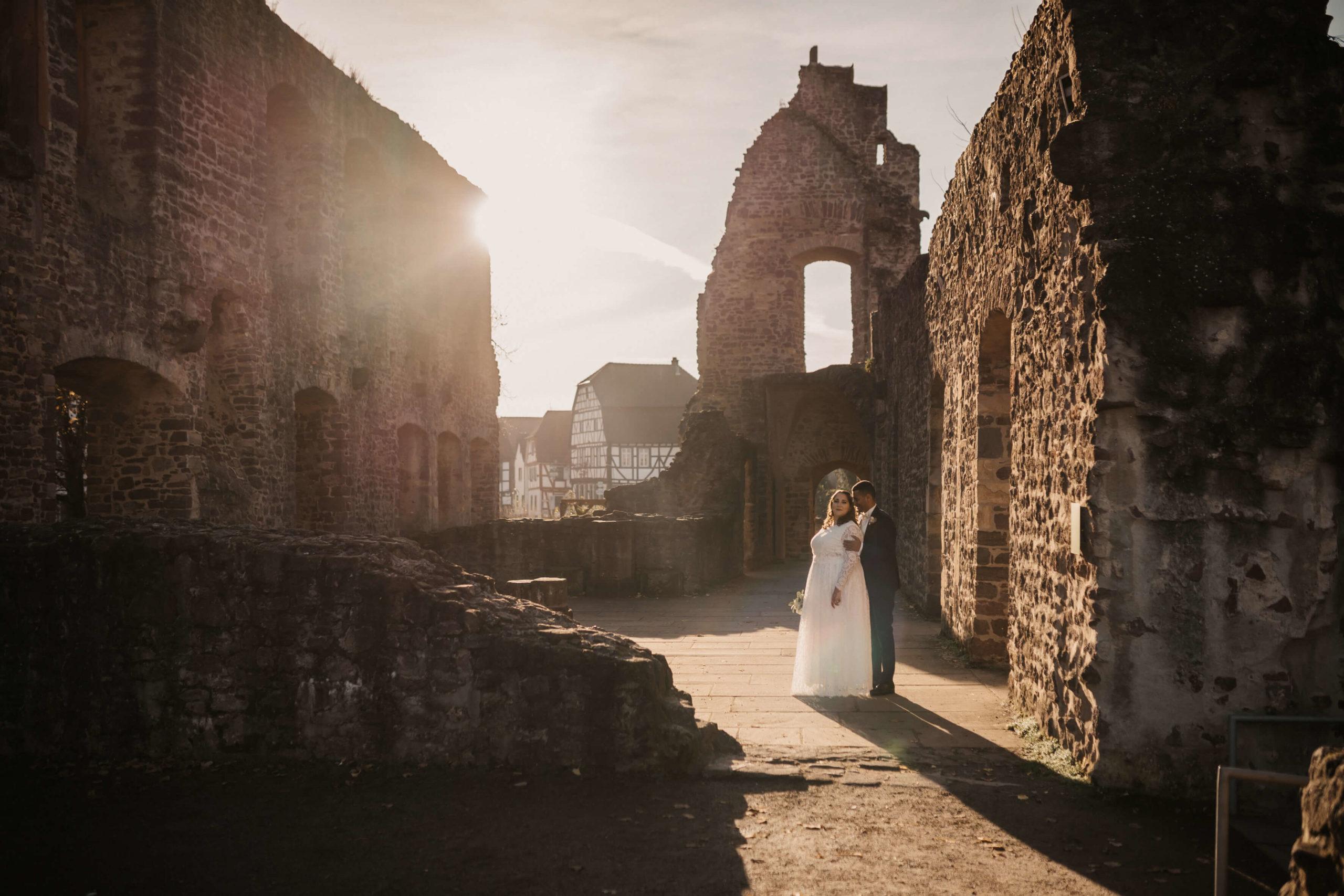 Hochzeit in der Burg Hahn in Dreieich