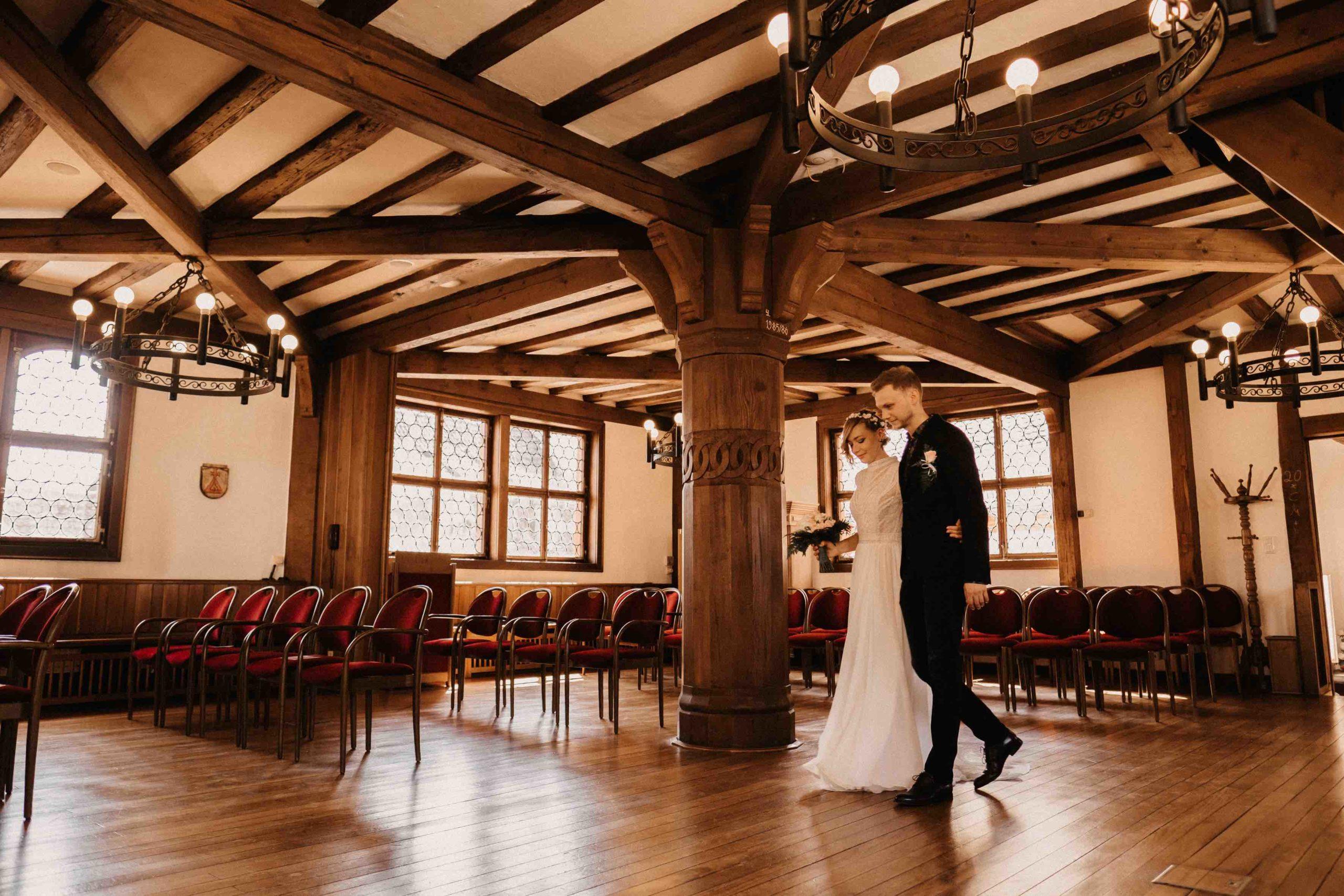 Eheschließung im Standesamt in Groß-Gerau